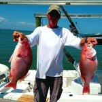Bay View Charters of SGI - Capt. Wes McCall  Two is always better!