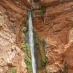 This is the Deer Creek Waterfall from the Colorado River