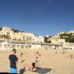 vue villa depuis plage du prophete