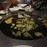 Restaurant where you cook your own food on your table