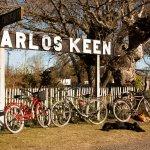 Carlos Keen, donde el auto sobra-