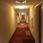 Very clean hallway
