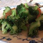 Fried Broccoli with garlic