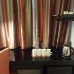 Coffee/tea set in room