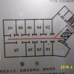 部屋の配置(20階)