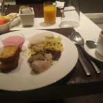 breakfast. All kinds of food!