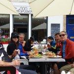 cyclistes Chiliens de passage Chez Albert