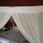 Unser Zimmer in der Villa Sanandari. Absolut grandios.
