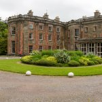 Arrival view of Bantry House