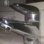 Das Bad sollte mal renoviert und geschrubt werden