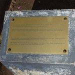 The Thai Pavilion plaque