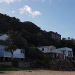Private beach of Pezula