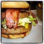Large bbq burger