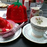 Lovely So Strawberry Cafe in Linlithgow