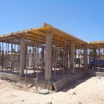 This the fish restaurant being rebuilt.Someone who owns a bar in Fuerteventura has just put it o
