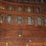 Inside the Teatro Farnese