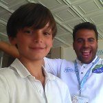 Gabriele con Antonio