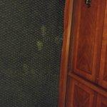 stain on carpet