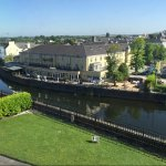 This picture is taken from Kilkenny Castle across the river from the hotel