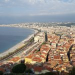 Vieux Nice from Parc de Chateau