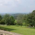 This is the view of Gloucestershire from the little chapel