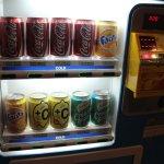 自動販売機、1本HKD25