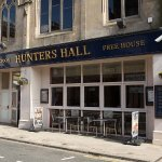 Entrance to Hunters Hall