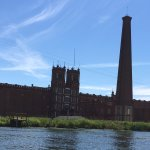 View of the Sibley Mill . . .