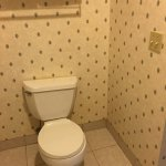 lots of room around the toilet sets this hotel apart from the rest