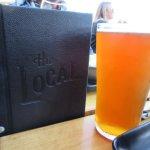 Menu & Cold Beer