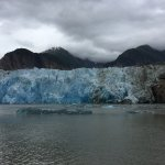 North Sawyer Glacier - even some big chunks of ice calving!