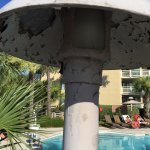 Light at adult pool in dire need of maintenance