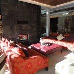 Lounge beim Eingang