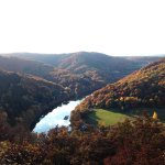 Ausblick im Herbst