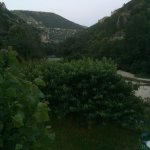 vue de la chambre avec terrasse