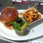burger au chevre
