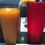 Orange Juice & Water