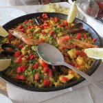 Mixed Paella - seafood and meat