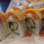 Spicy Platter - AND the unforgettable Mango Salmon Roll
