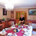 Evergreen -just a portion of the dining room w/ Mary C