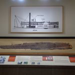 Steamship Teche Display