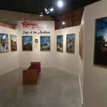 "Rodrique ""Saga of the Acadians"" paintings display"