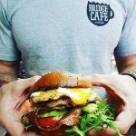 Bridge Cafe chicken burger