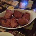 Delicious steak sandwich and Ruben eggrolls