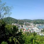 View of Sabang Beach