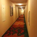 Hallway at Residence Inn Canton