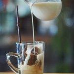 กาแฟก้อนกับนม