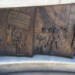 Closer view African American Memorial -