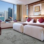 Harbour View Room with twin beds
