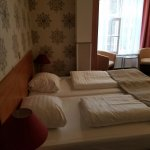 Our room on the first floor